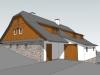 Stavební úpravy chalupy, Říčky v Orlických horách