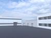 Návrh administrativní budovy a haly, Pardubice